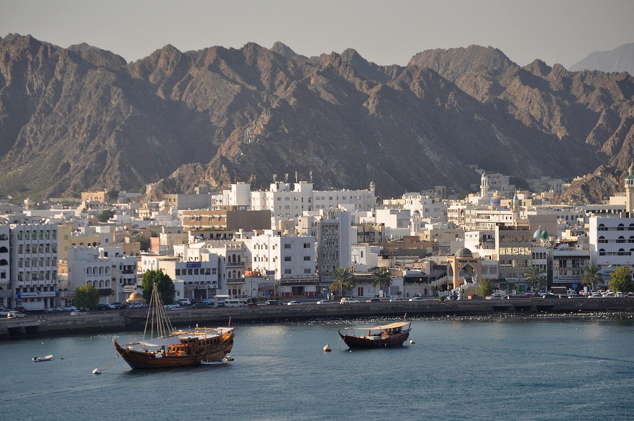 Muscat sea