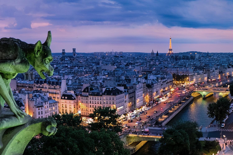 city Paris view