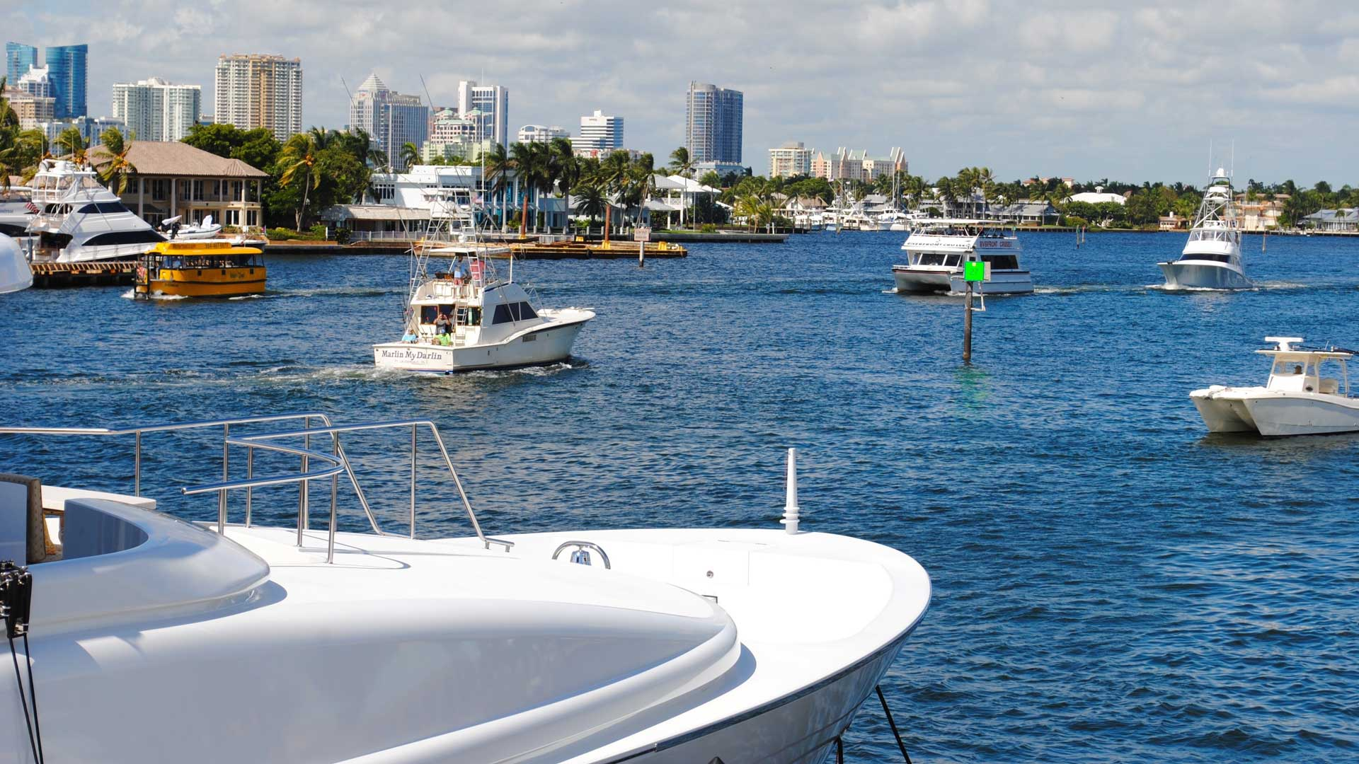 Fort Lauderdale Boats and Ocean