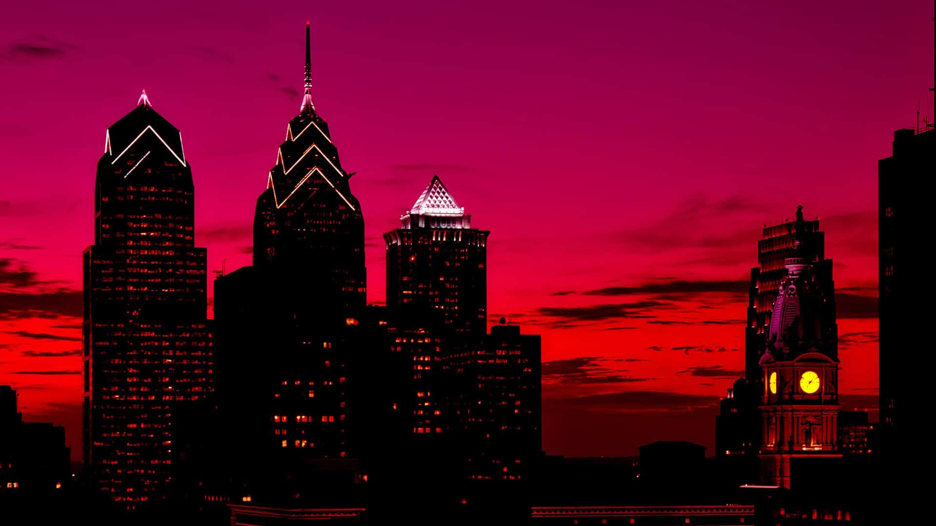philadelphia city red horizon