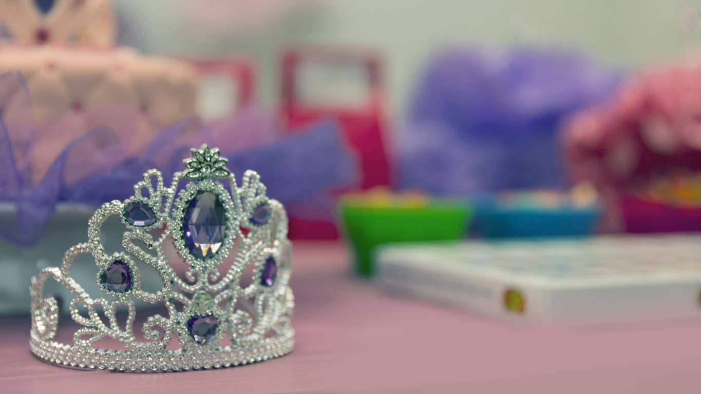 Crown with Purple Gems